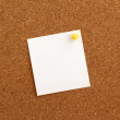 Postit Note — Stock Photo