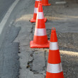 Safety cones — Stock Photo #33666221