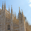 Stock Photo: Glimpse of Duomo, Milan
