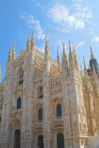 Glimpse of Duomo, Milan — Stock Photo