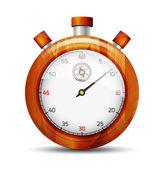 The luxury stopwatch — Stock Vector