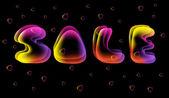 Försäljning tecken illustration — Stockvektor