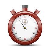 The claret stopwatch — Stock Vector