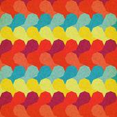 The retro grunge pattern — Stock Vector