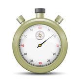 Zeytin kronometre — Stok Vektör