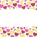 The love seamless border — Stock Vector #32355793
