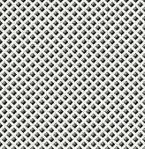 The black rhombus pattern — Stock Vector
