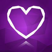 Aşk kart kavramı — Stok Vektör