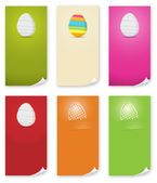 The Easter banner templates set — Stockvector