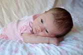 New born baby portrait — Stock Photo