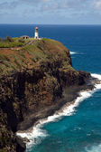Lighthouse and Wildlife Refuge Hawaii — Stock Photo