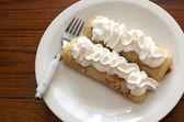 Dessert crepes — Stock Photo