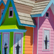Stock Photo: Colorful house in parade