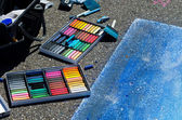 Street art supplies — Stock Photo