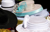 Old fancy hats — Foto Stock
