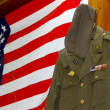 Old military uniform — Stock Photo