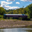 Indiana Covered bridge over sugar creek — Stock Photo #38237443