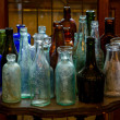 Stock Photo: Antique bottles