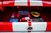 Emergency kit in mustang — Stock Photo