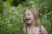 Laughing little girl — Stock Photo