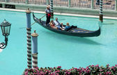 Gondola ride in vegas — Stock Photo