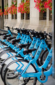 Bike rental in chicago — Stock Photo