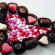 Sweet candy heart — Stock Photo
