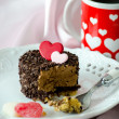 Coffee and decadent dessert — Stock Photo #40572523