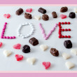 Stock Photo: Love sweets