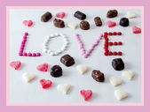 Love sweets — Stock Photo