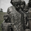 sculpture of sad children from lidice — Stock Photo #30603583