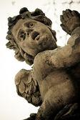 Stone statue of angel — Stock Photo