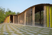 Bamboo structure — Stock Photo