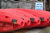 Kayak close up — Stock Photo
