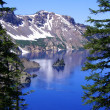 The Phantom, Crater Lake — Stock Photo