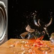 Loud Music Can Cause Damage - Studio Shot — Stock Photo