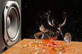 Loud Music Can Cause Damage - Studio Shot — Stock Photo