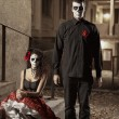 Постер, плакат: Dia de los Muerto Costume Day of the dead
