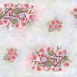 Seamless sakura flower pattern — Stock Photo