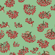 Seamless pattern with rowan — Stock Photo #41703125