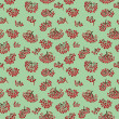 Seamless pattern with rowan — Stock Photo #41703129