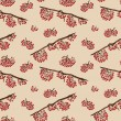 Seamless pattern with rowan — Stock Photo #41703131