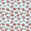 Seamless pattern with rowan — Stock Photo #41743453