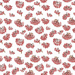 Seamless pattern with rowan — Stock Photo #41743463