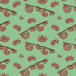 Seamless pattern with rowan — Stock Photo #41743491