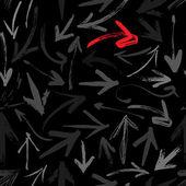 Padrão sem emenda de setas — Vetorial Stock