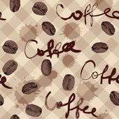 コーヒー パターン — ストックベクタ