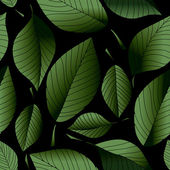Leaf pattern — Vector de stock