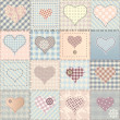 Stockvector : Love pattern