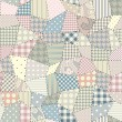Quilting pattern — Vettoriali Stock